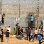 2021-08-26: Hamas zet kinderen in voor rellen aan de grens – Hamas uses children to riot on border